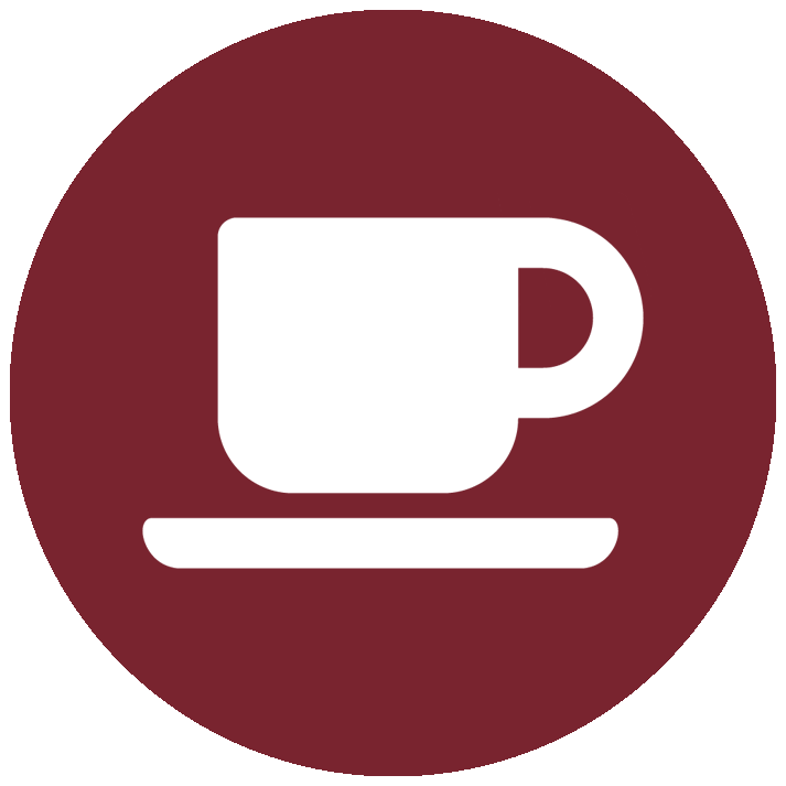 vector icon of a cup of coffee